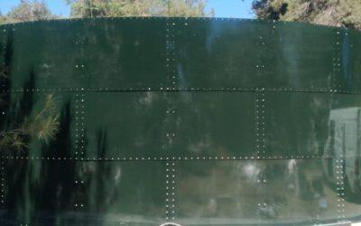 Νέα δεξαμενή ύδρευσης τοποθετήθηκε στον Τρίλοφο
